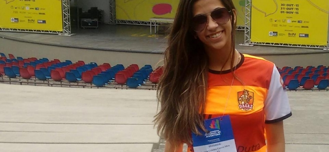 Larissa Garcez eleita Delegada Estadual