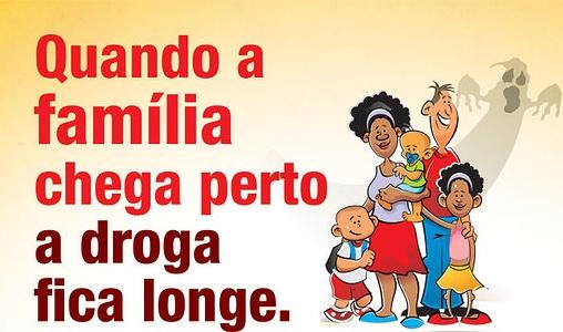 A Família na Prevenção Contra as Drogas.